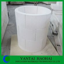 JN series calcium silicate pipe cover fire protection high density best choice from Haohai perfect sanding technology