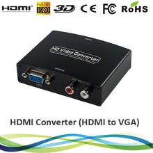 HDMI to VGA converter with R/L audio output