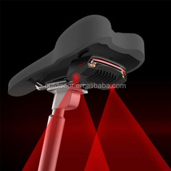 Wireless Remote Control Laser Tail Lamp for Bicycle light , Waterproof Level: IPX4