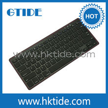 Wireless key board with built in rechargeable battery for android tablet