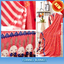 super soft 100% polyester printing wholesale baby fleece blankets bed sheet