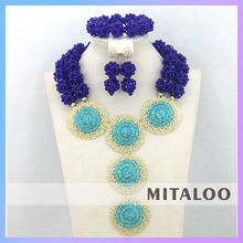 Mitaloo MT0004 2015 New Fashion Jewelry Set Delicate Necklace Artificial Necklace Set