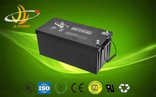 JL power rechargeable 12v200ah sealed lead acid battery