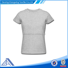 women cotton sexy slim fit blank t-shirt skin fit t-shirts