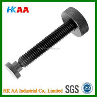Aluminum / Brass Knurled Thumb Screw, Knurled Cap Screw