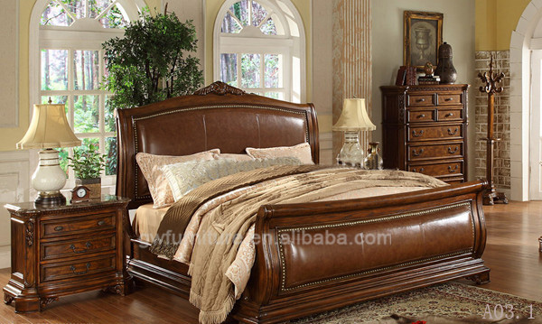 Hand Carved Bedroom Furniture : ... Classic style hand carved antique bedroom furniture sets - Alibaba.com