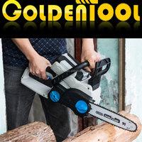 36v 3Ah 650w Brushless Li-Ion Wood Cutting Saw Industrial Log Splitters Machine Portable Cordless Home Chainsaw GW8238