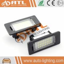 Plug and play 7000k 12v dc led license plate light