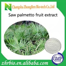 Saw Palmetto Fruit Extract Saw Palmetto extract 25% 45% Fatty Acid