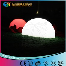 PE plastic Battery operated Perfect Quality Control System Light Glow Swimming Pool Led Beach Ball