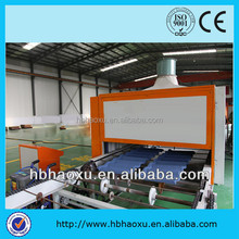 colorful stone-coated metal roof tile making line/stone coated metal roofing tile machine factory price