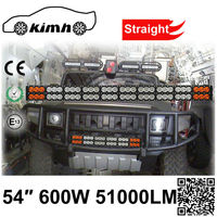 600W New Products Electronic Ballast Car Accessories led off road working light bar