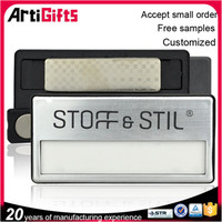 Customized magnetic abs name badge