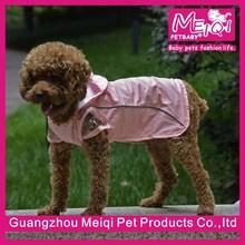 European Style waterproof dog coats cute dog raincoat with hood