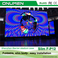 Onumen high quality foldable stage background led screen dj