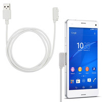 USB Magnetic Charging Cable For Sony Xperia Z3 L50w Z1 L39H XL39H with 1m 3.3FT