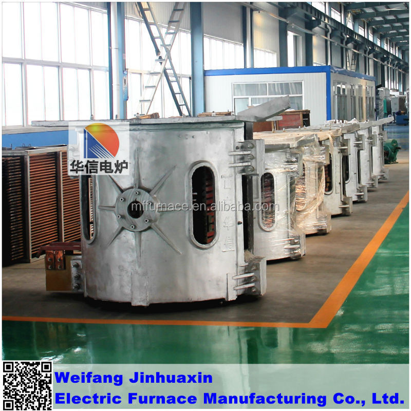 energy saving small induction melting furnace for aluminum