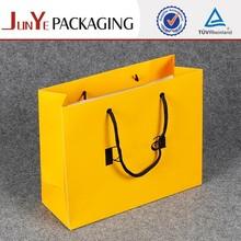 Mini decorative custom printed paper bags no minimum