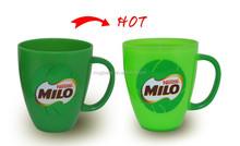 Color Changing Mug for Kids, Plastic Mug with Handle and Lid