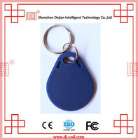 Rfid key fob proximity tracking tag for access control