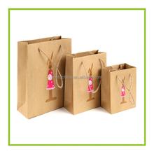 Cheap custom printed kraft paper bag,Kraft brown paper bag manufactures,Kraft recycled shopping bag