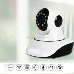 baby monitor IP Network monitor HD IR camera Mobile alarm detection camera Mobile wifi remote surveillance