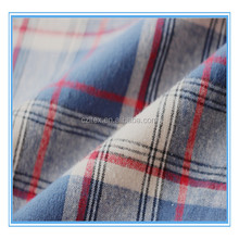 Philippines market yarn dyed plain t-shirts cotton check shirt fabric