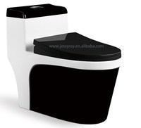 Siphonic one piece colorful toilet 330