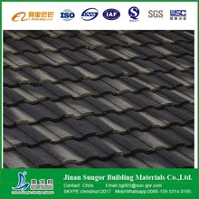 Corrugated PPGI Steel Plate Stone Coated Metal Roof Tile