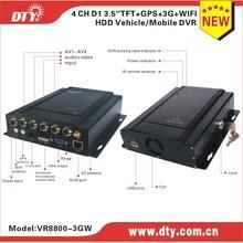 Hotsell HD DVR 8 Channel CCTV Truck Car Mobile DVR