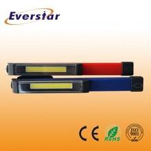 3W ABS Portable Clip COB LED Pen Torch Light