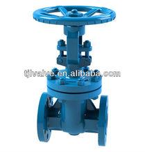 acequia de agua la válvula de compuerta