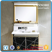China Wall Mount Washbasin Cabinet Design
