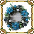 Pormotional artificial pinheiro guirlanda/decoração de natal