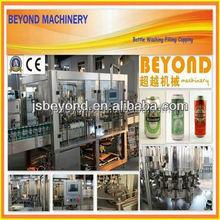 aluminium can filling and sealing line