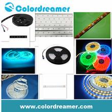 CE/RoHS DMX LED Strip Flexible light DC12V IP65 8W/meter artnet controllable