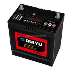 New product launch maintenance free auto battery china market in dubai