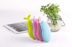 new products plants friuts silicone key chain key bag