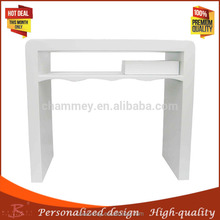 adopt advanced technology stainless steel storage manicure table/wood 2014 therapy beauty tool table