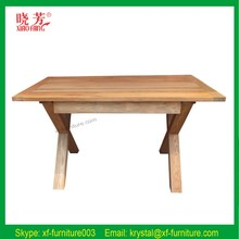 Home furniture dining room antique wooden table and chairs