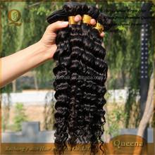 100 Percent Sofe No Tangle No Shedding Human Hair Natural Brazilian Hair Pieces