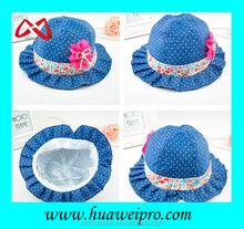 2015 New Fashion Cute Summer Kids Children Cowboy Bucket Cap/Hat