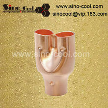 Distribute connector copper pipes and fittings