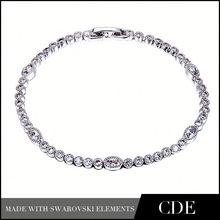 Hong Kong Wholesale Jewelry Zircon Shamballa Bracelet B0069
