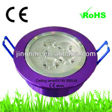 tuning light led ceiling lamp for hotel 10w