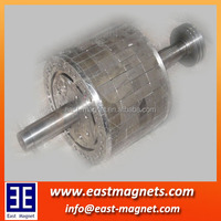 strong ndfeb magnet for high intensity magnetic roller/neodymium magnet for motor rotor