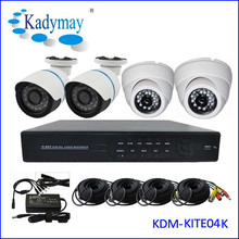 2015 HOT SELL!! Modern Security Analog 4ch Dvr System kits support mobile/internet/IE browse easy to use