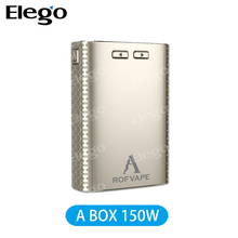 Newest Killer to Sigelei 150W !!! Newest Huge Power 150W Rofvape A BOX 150W Mod with High Quality and Low Price