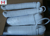 Solid braided cotton rope with good quality and competitive price