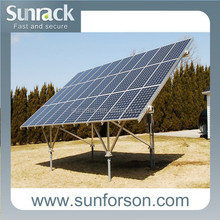 SunRack solar panel pv mounting rack system/support structure racking system